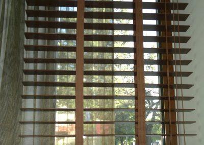 дървена щора